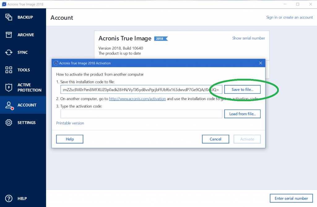 Acronis True Image 2020 Activation Key