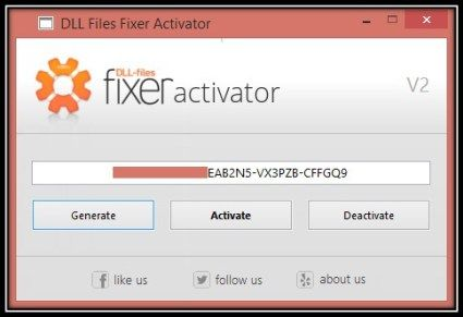 DLL Files Fixer Keygen