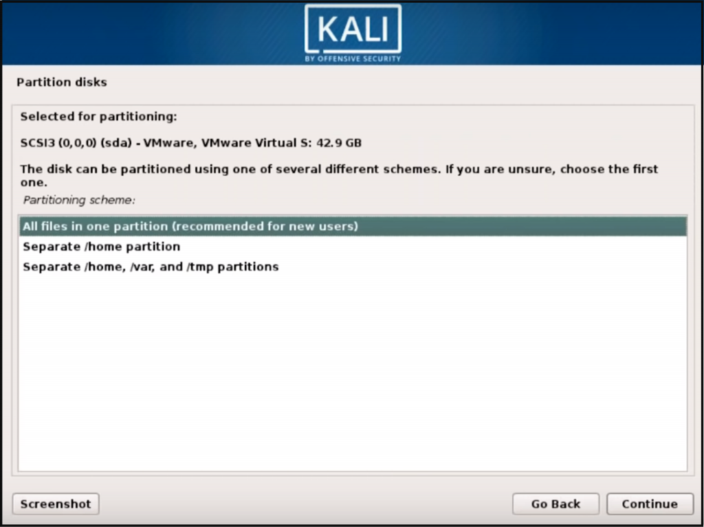 Step 6 Kali Linux - How to install Kali Linux