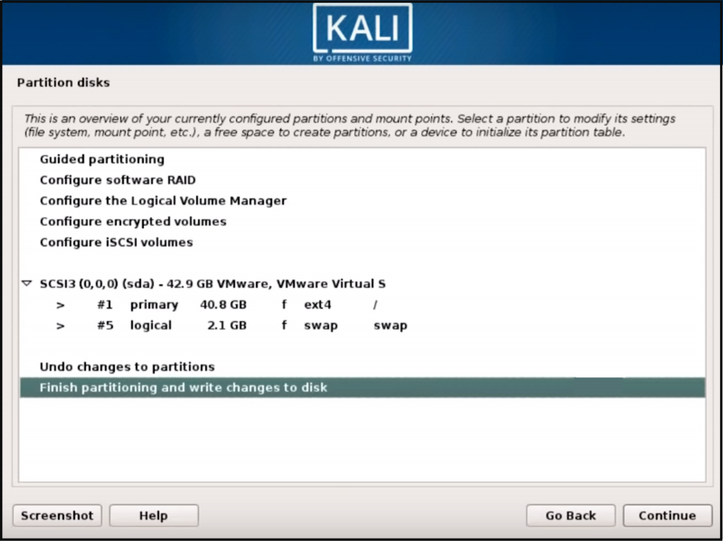 Step 7 Kali Linux - How to install Kali Linux